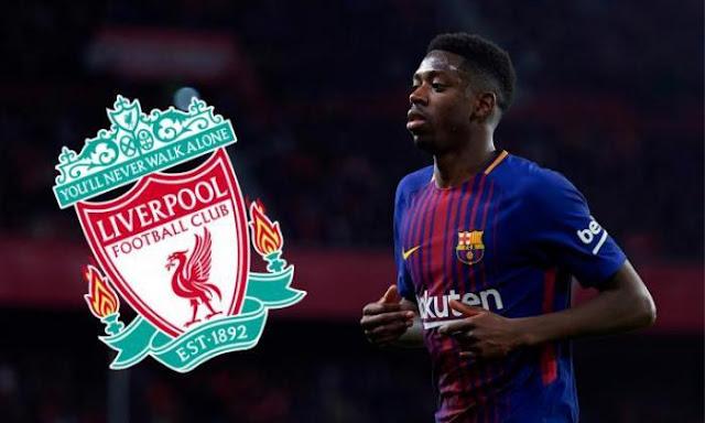 Liverpool Akan Mendatangkan Winger Barcelona Ke Anfield