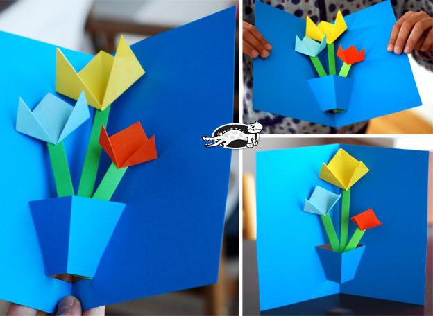 Tarjetas Con Flores Primavera O Dia De Las Madres Dibujos Colorear