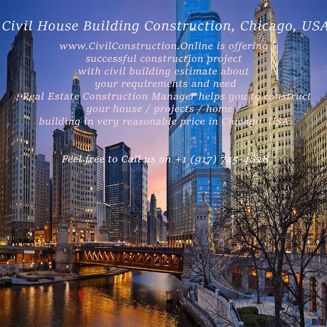 Civil House Building Construction, St. Louis, USA