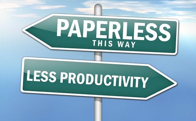 benefits hiring bulk scanning service paperless office