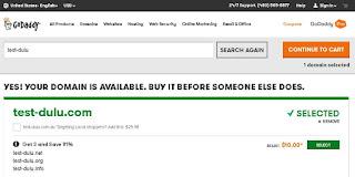 Payoneer terbaru: Cara Beli Domain Di Godaddy Dengan Kartu Payoneer