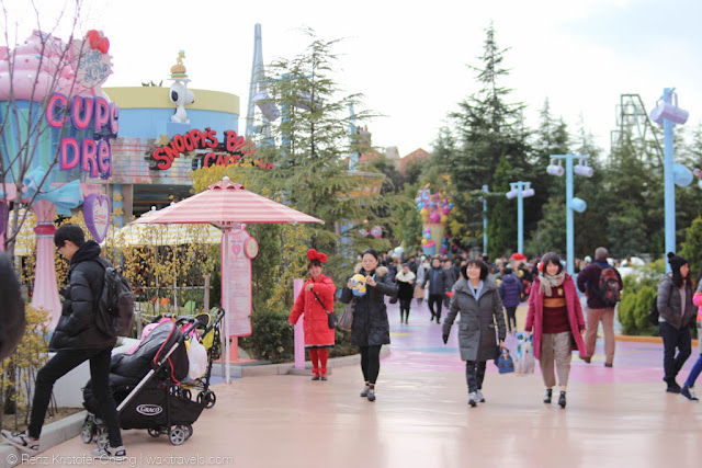 Kid's Area in Universal Studios Japan