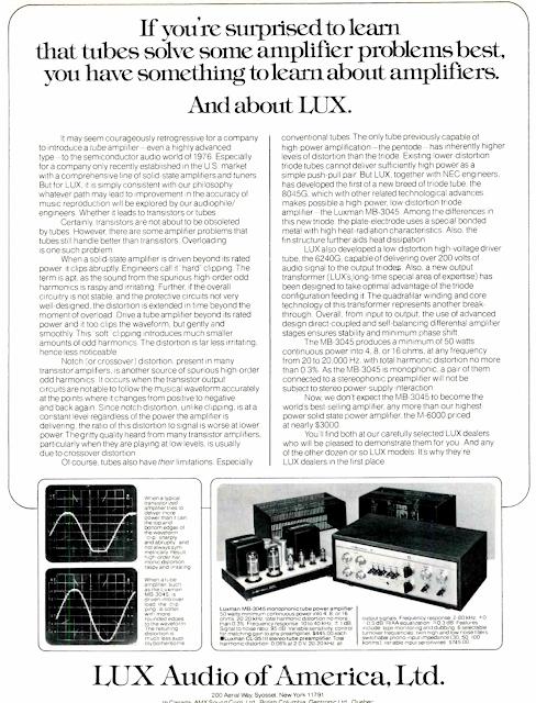 Lux Audio Of America