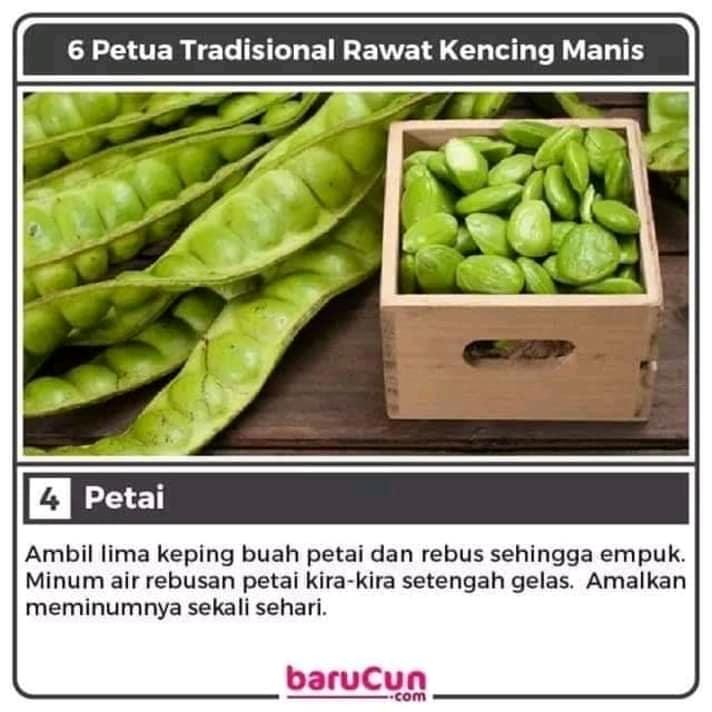 tips petua tradisional rawat kencing manis