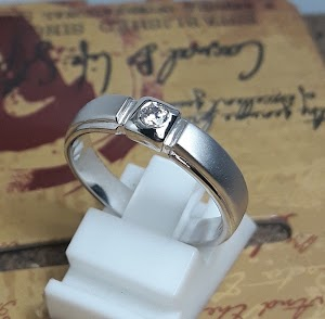 cincin kawin palladium single 6675