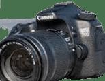kamera vlog pemula Canon EOS 70D