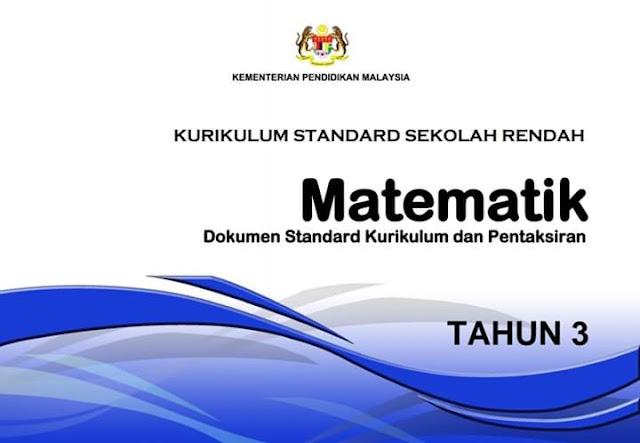 DSKP TAHUN 3 Matematik 2020