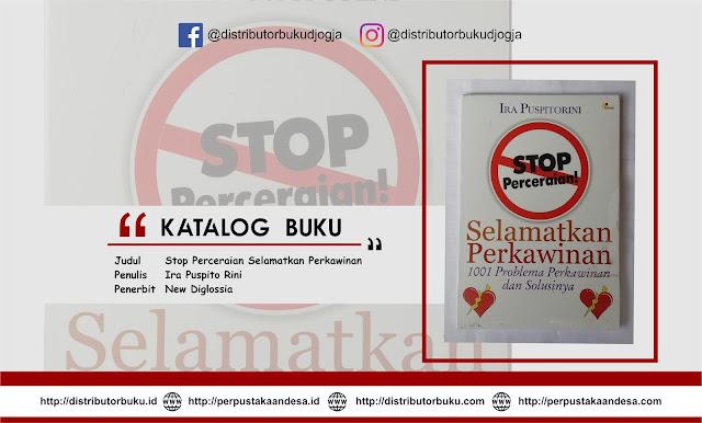 Stop Perceraian Selamatkan Perkawinan
