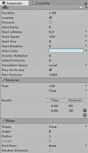 Shooting Particles in Unity tutorial - Mod DB
