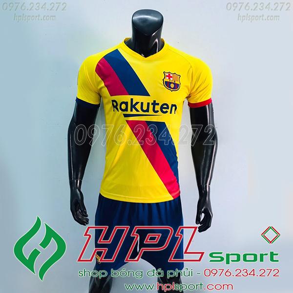 Áo câu lạc bộ Barcelona màu vàng 2020