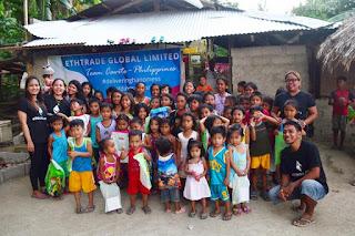 Kegiatan Sosial member Ethtrade Filipina