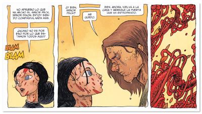 comic terror LA CASA DE LA PENITENCIA obra de Peter Tomasi, Ian Bertram y Stewart, edita en España Planeta Comic