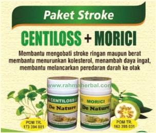 Centiloss dan morici Paket stroke