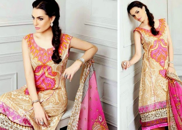 Shariq Textiles- Nadia Hussain Embroidered Eid Collection