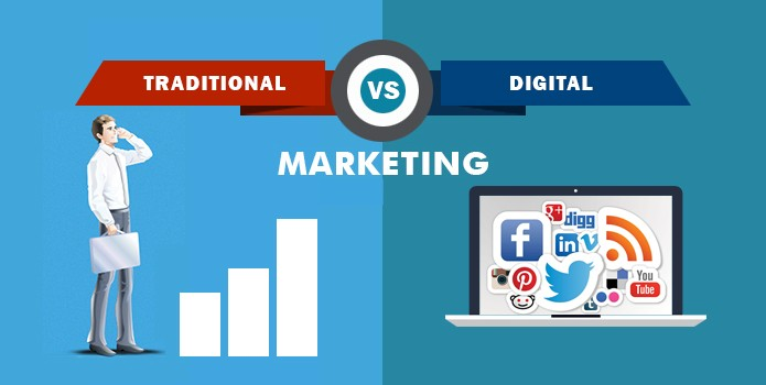 News Tech Buddy: Traditional Marketing VS Digital Marketing: Which One Is Best For Business