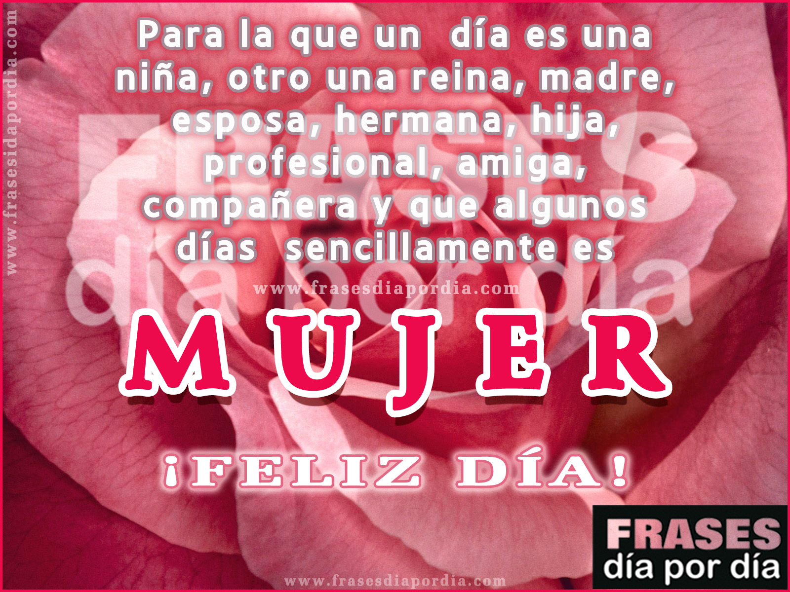Feliz Dia Mujer 0 ratings0% found this document useful (0 votes). feliz dia mujer