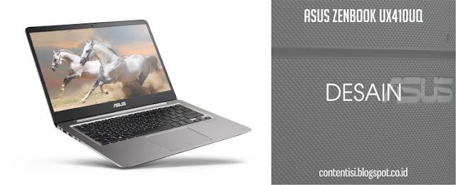 ASUS ZenBook UX410UQ - Desain