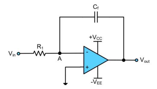 Op-Amp Sebagai Integrator