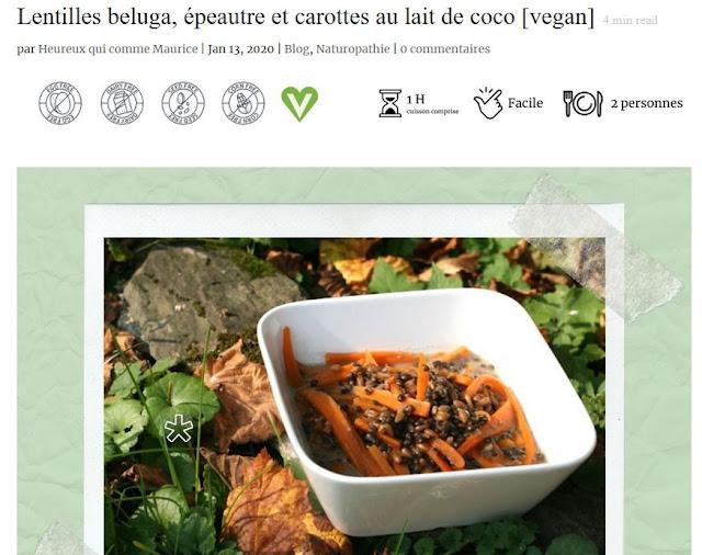 https://heureuxquicommemaurice.fr/lentilles-beluga-epeautre-et-carottes-au-lait-de-coco-vegan/