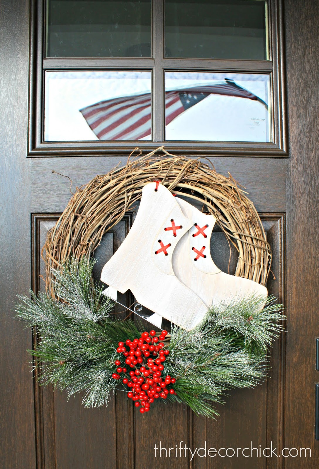 Using grapevine wreath for all holidays