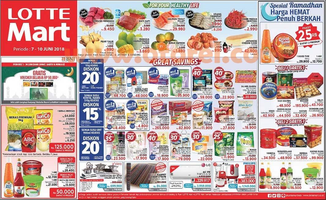 Lottemart Promo Weekend Periode 21 – 24 Juni 2018