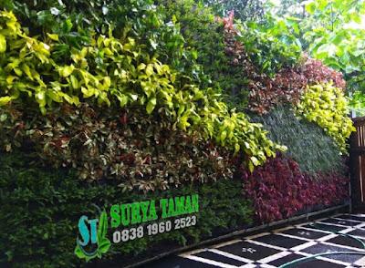 Jasa Pembuatan Vertikal Garden - SuryaTaman