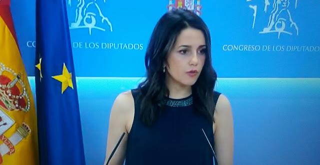 """Inés Arrimadas: """"Paramos el golpe separatista y lo volveremos a hacer"""""""