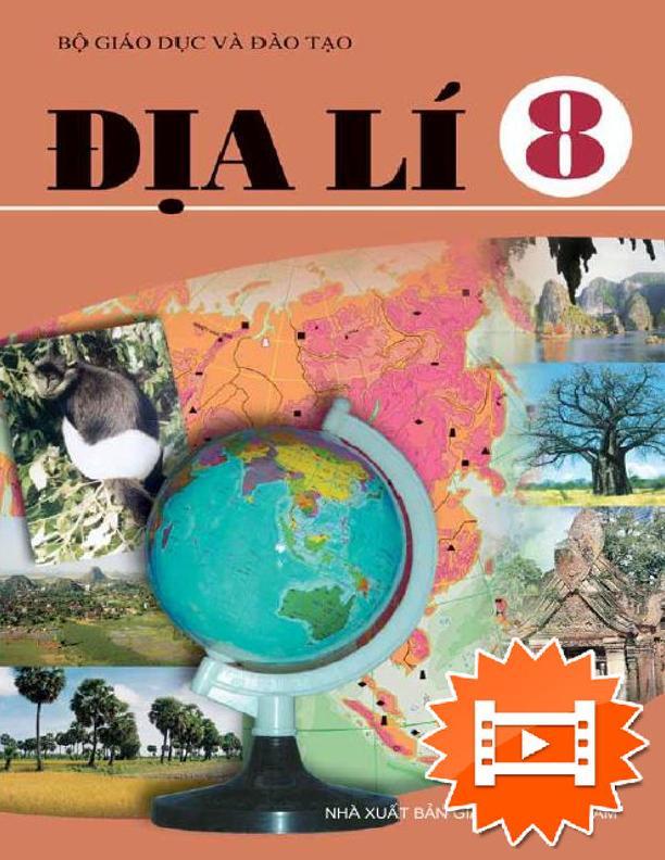 Sách Giáo Khoa Địa Lí 8