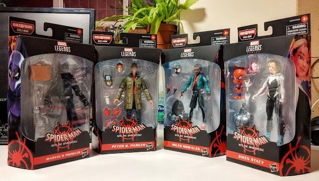 Marvel Legends Spider-Verse Figures