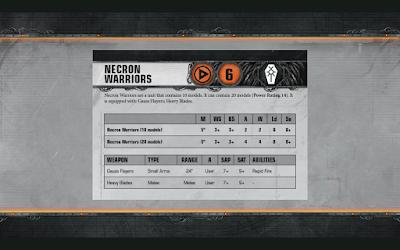 Necron Warriors Warhammer 40,000 Apocalypse-