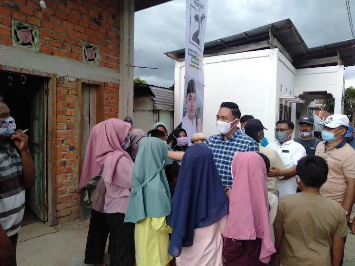 Fikar - Yos Kembali Menyapa Warga Kecamatan Hamparan Rawang