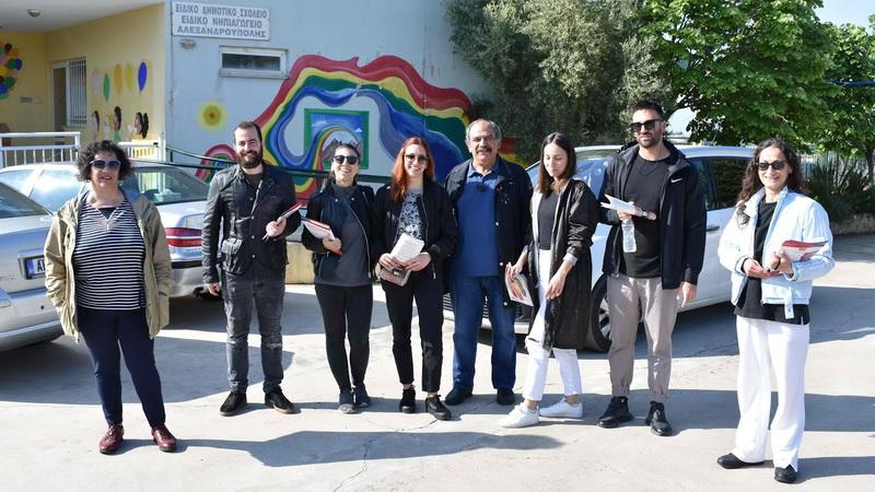 Επίσκεψη Σάββα Δευτεραίου στα ειδικά σχολεία της Αλεξανδρούπολης και στην υπηρεσία του ΚΕΣΥ