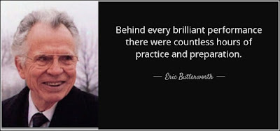 Quotes on practice and preparation