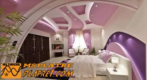 D cor pour une chambre a coucher ms timicha d coration for Platre dicor 2015