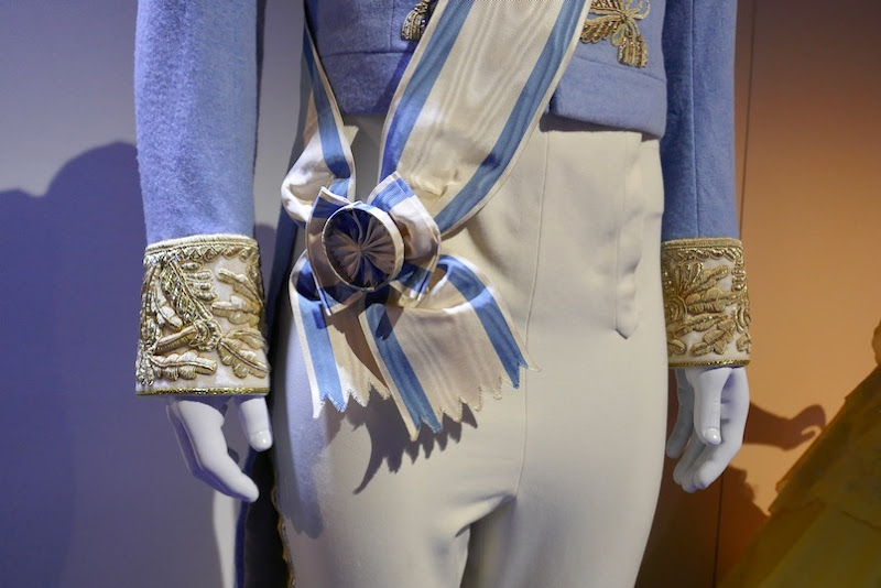 Cinderella Prince Charming wedding costume sash
