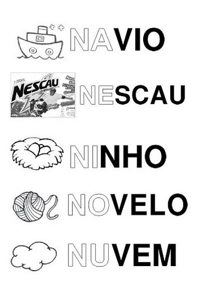 Silab Rio Alfabeto Ilustrado A A Z Atividades Letras