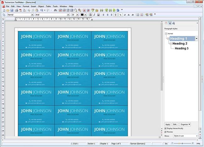 Ashampoo Office Free - Textmaker