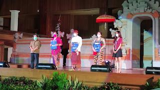 Santy Sastra, Juri Jegeg Bagus Politeknik Pariwisata Bali 2021