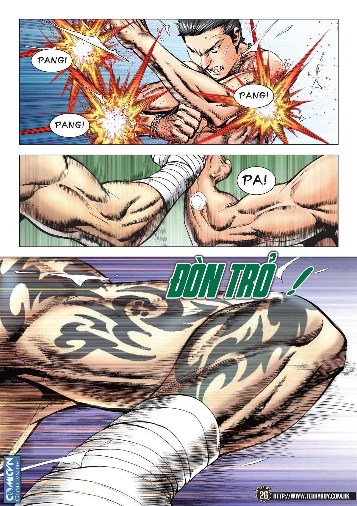 Người Trong Giang Hồ chapter 2143: ác chiến vua muay thai trang 24