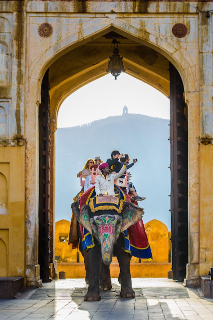 Amer Fort of Jaipur, Rajasthan, India