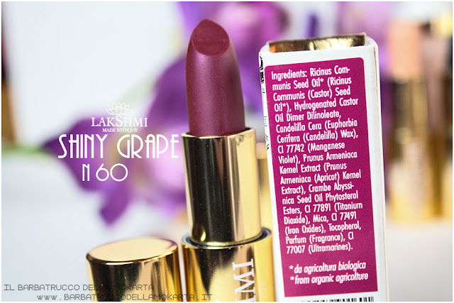 shiny grape inci lakshmi makeup vegan ecobio