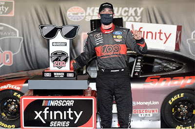 Austin Cindric finds #NASCAR Xfinity Series Victory Lane