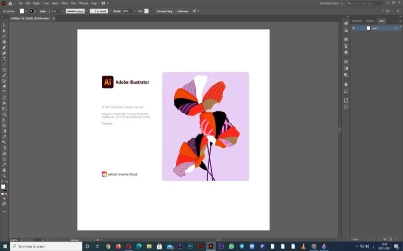 كورس احتراف برنامج illustrator من الصفر 2021