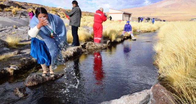 En 2016 se produjo la última visita de legisladores bolivianos al Silala / SENADO