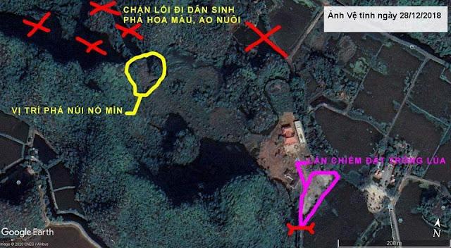 Ninh Bình: Phá mìn nổ long mạch?