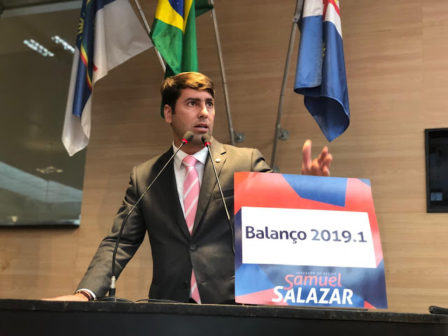 Samuel Salazar faz balanço positivo de seu primeiro semestre de mandato parlamentar
