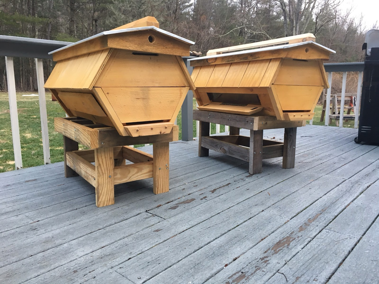 New Cathedral Top Bar Hives!!