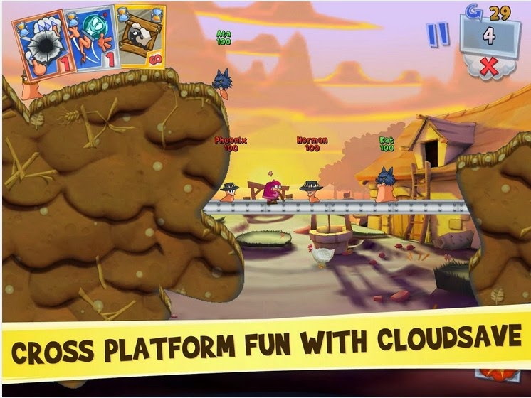 download game worms 3 apk mod
