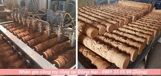 Gia công trụ rồng giá rẻ ở Đồng Nai