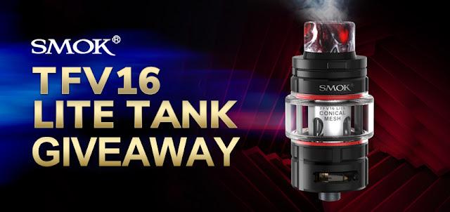 To win a SMOK TFV16 Lite Tank here!